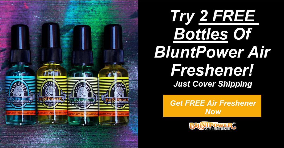 Free BluntPower Air Freshener